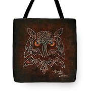 Knotty Owl Tote Bag