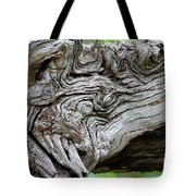 Knotty Tree Tote Bag