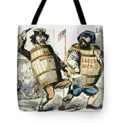 Know-nothing Cartoon Tote Bag by Granger