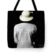 Know Where  Tote Bag