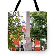 Knoxville Old Courthouse Grounds Tote Bag