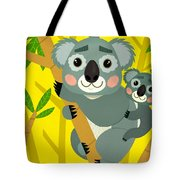 Koala Bears Tote Bag