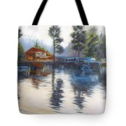 Kodaikanal Lake Tote Bag