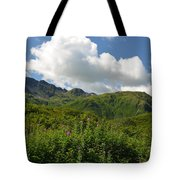 Kodiak Greenery Tote Bag