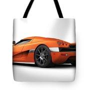 Koenigsegg Ccx Orange Tote Bag