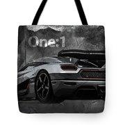 Koenigsegg One-1 Tote Bag
