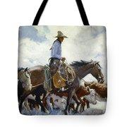 Koerner: Cowboy, 1920 Tote Bag