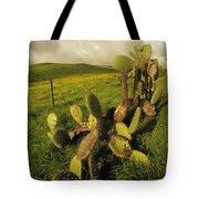 Kohala Cactus Tote Bag