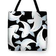 Koi Fish Powder Black - Pearl Tote Bag