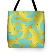 Koi Fish Sage - Lemon Tote Bag