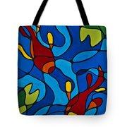 Koi Fish Tote Bag by Sharon Cummings