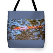 Koi Glimpses Tote Bag
