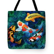 Koi Group Tote Bag