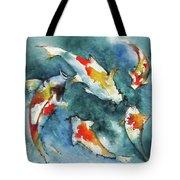 Koi Jewels Tote Bag