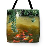 Koi Party Tote Bag