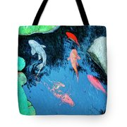 Koi Pond 1 Tote Bag