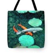 Koi Pond 3 Tote Bag