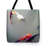 Koi Pond Brooklyn Tote Bag