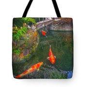 Koi Pond  Tote Bag