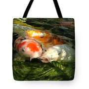 Koi Ripples Tote Bag