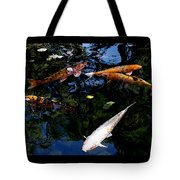 Koi Swimming - Dsc00023 Tote Bag