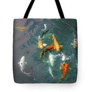 Koi Symphony 1 Stylized Tote Bag