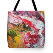 Koi With Friends Tote Bag