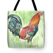 Kokee Rooster Tote Bag