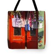 Kokina Red Door Tote Bag