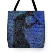 Kokopeli Blues Tote Bag