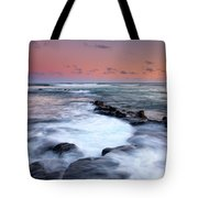 Koloa Sunset Tote Bag by Mike  Dawson