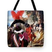 Komondor Art Canvas Print - The Carnival Dance Tote Bag