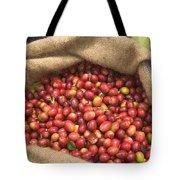 Kona Coffee Bean Harvest Tote Bag