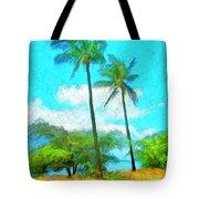 Kona Palms Tote Bag