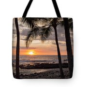 Kona Sunset Tote Bag by Brian Harig