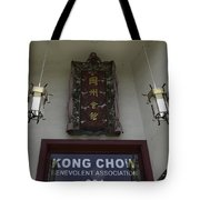 Kong Chow Benevolent Association Tote Bag