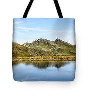 Konigsleiten Mountain Top. Tyrol, Austria Tote Bag
