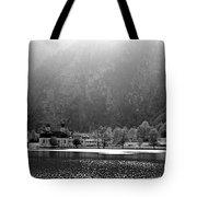 Konigssee Lake And Saint Bartoloma Tote Bag