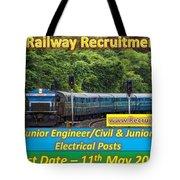 Konkan Railway Recruitment Tote Bag