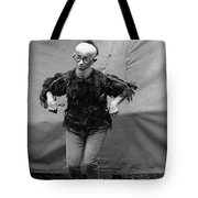 Koo Koo The Bird Girl Front Tote Bag