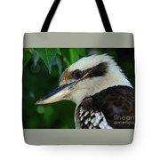Kookaburra Portrait By Kaye Menner Tote Bag