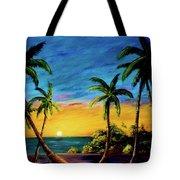Ko'olina Sunset On The West Side Of Oahu Hawaii #299 Tote Bag