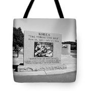 Korea The Forgotten War  Tote Bag