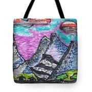 Korean Hills Tote Bag