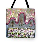 Korean Landscape Painting Tote Bag