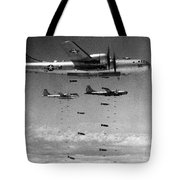 Korean War: B-29 Bombers Tote Bag
