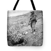 Korean War: Foxhole, 1951 Tote Bag