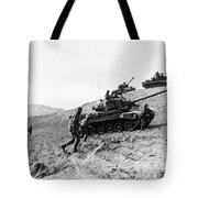 Korean War: Infantrymen Tote Bag