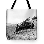 Korean War: Infantrymen Tote Bag