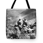 Korean War: Machine Gun Tote Bag